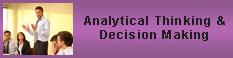 Analytical thinking & Decision Making